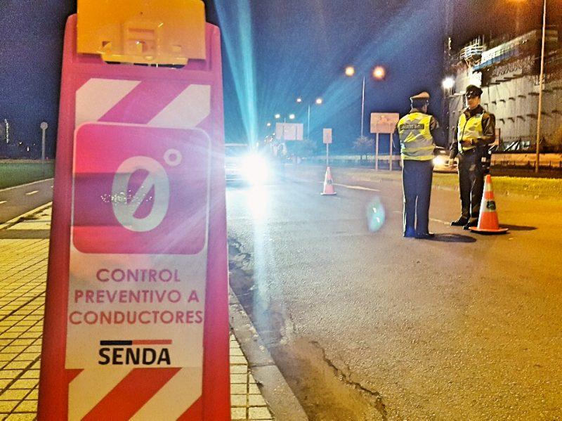 Ambulancia Control Cero de SENDA Biobío detectó a 20 conductores con ingesta de alcohol en estas Fiestas Patrias