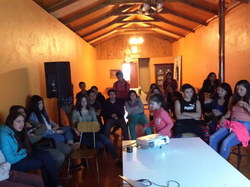 SENDA Previene Collipulli y Agrupación San Luís Gonzaga desarrollan plan de trabajo
