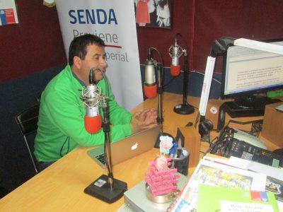SENDA Previene de Nueva Imperial pone al aire programa radial «Cuida Tus Límites»
