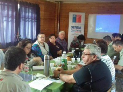 Vecinos y vecinas del sector Irene Daiber de La Unión evalúan positivamente acciones preventivas realizadas en su territorio