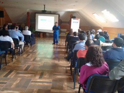 SENDA Previene Pucón apoya jornadas de promoción de la salud y autocuidado para trabajadores del municipio