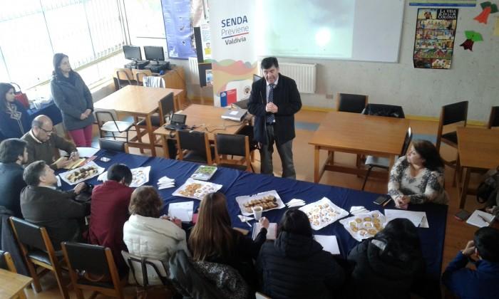 SENDA Previene Valdivia reunió a dirigentes y redes de apoyo para definir actividad con presupuesto participativo