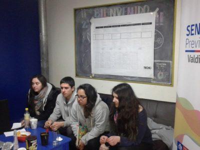 SENDA Previene Valdivia y TECHO realizarán talleres de prevención de alcohol y otras drogas a padres y niños del Campamento Girasoles