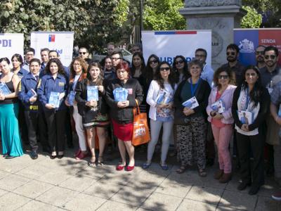 """Ministerio del Interior y Seguridad Pública conmemora """"Día Internacional de la Eliminación de la Violencia contra la Mujer"""""""