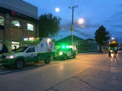 Ambulancia de Senda armó operativo en Puerto Natales