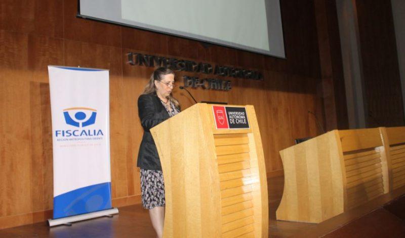 Directora regional de SENDA participa de seminario junto a la Fiscalía Oriente
