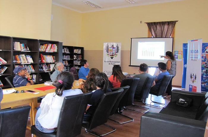 Comunidad de Huara participa en jornada de Parentalidad Positiva de SENDA