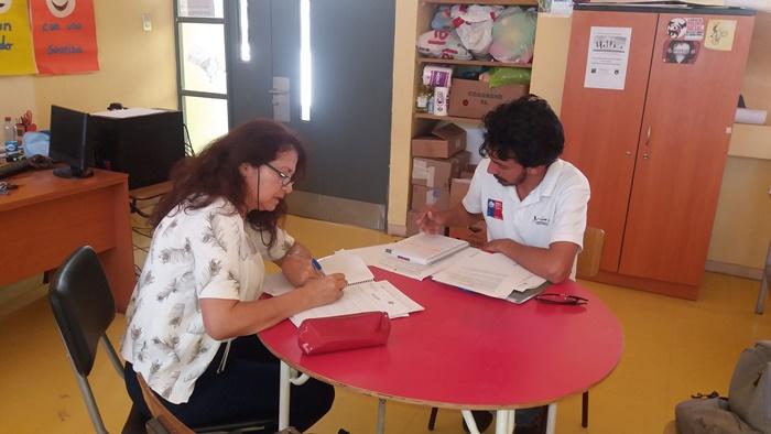 Escuela Básica El Palqui elabora plan de acción para abordar casos de drogas