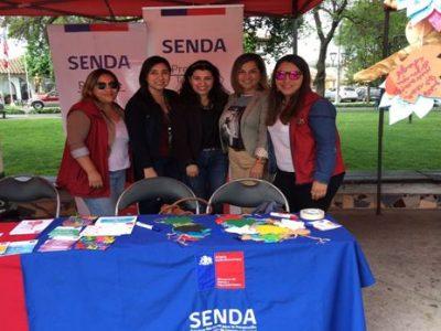 SENDA Previene Talagante participa en Feria Provincial de la Infancia