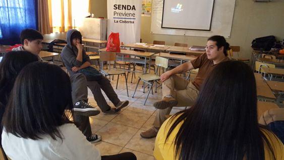Estudiantes del Actuar a Tiempo reflexionan acerca de las drogas y el alcohol
