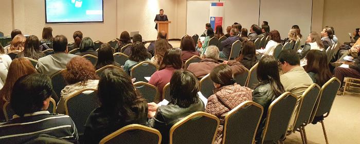 SENDA Biobío reúne a más de 70 organizaciones en Seminario de bienestar y prevención en contextos laborales