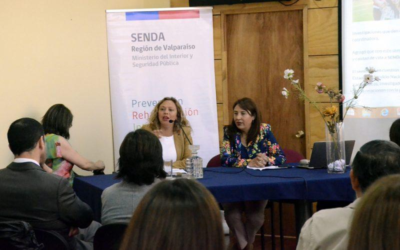 Encuentro en UPLA muestra estudios sobre riesgo de consumo de alcohol y drogas en Universidades Estatales