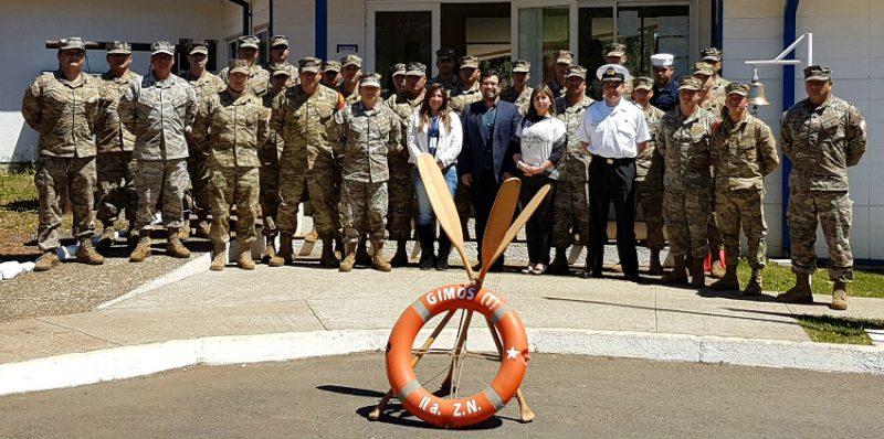 SENDA Biobío capacitó en prevención de drogas  a Policía Militar de la Base Naval Talcahuano