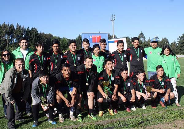 SENDA Previene de Nueva Imperial organiza campeonato de fútbol calle en la comuna