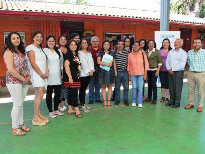 Senda O'Higgins recibe a comitiva de la República de El Salvador y comparte experiencias en drogas y alcohol.