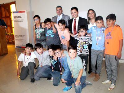 Niños de Chivilcán disfrutaron  de una entretenida tarde preventiva