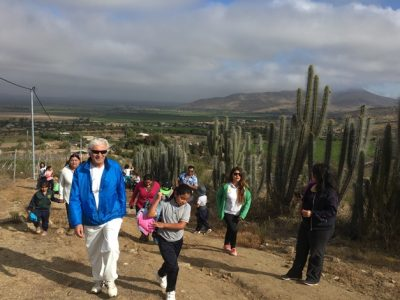 Realizan masiva caminata familiar en Punitaqui