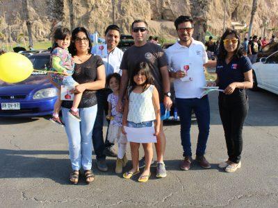 SENDA Arica y Parinacota promueve la conducción responsable en Expo Tuning