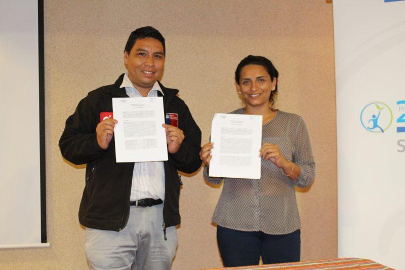 SENDA y SENAME firman convenio de colaboración para reforzar el trabajo en la región