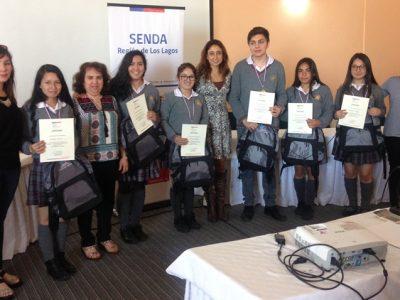 Colegio Ramón Angel Jara de Los Muermos triunfador en los Debates Estudiantiles de SENDA en Provincia de Llanquihue