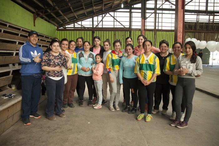 Con Campeonato de fútbol femenino finalizó proyecto Neltume por la Prevención