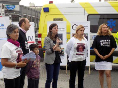 Autoridades y familiares conmemoran el Día Mundial en Recuerdo a las Víctimas de la Violencia Vial