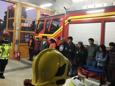 SENDA Previene Villarrica capacita a estudiantes de programa «Actuar a Tiempo»
