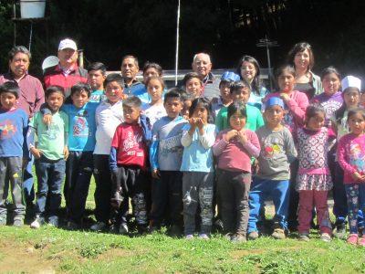 SENDA Previene de Carahue realiza talleres de prevención en comunidades mapuche rurales