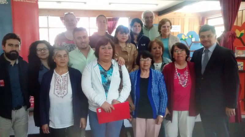 Vecinos de Villarrica reciben recursos gracias a apoyo de municipio y SENDA Previene