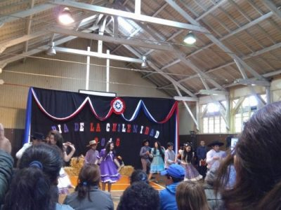 Programa Actuar a Tiempo de SENDA Previene La Unión participó en Día de la Chilenidad del Colegio Honorio Ojeda Valderas