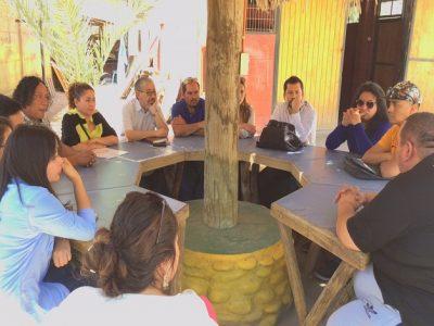 Consejo de la Sociedad Civil de Senda conoció el trabajo de Centro de Tratamiento