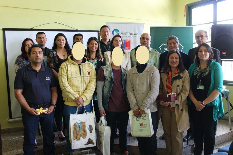 SENDA Araucania valora la certificación de 5 jóvenes de la sección juvenil del Centro Penitenciario de Temuco