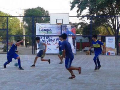 SENDA Previene Lampa organiza campeonato de baby fútbol con la comunidad