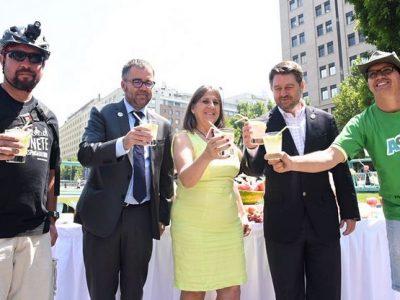 SENDA e Intendencia Metropolitana llaman al consumo responsable de alcohol en fin de año