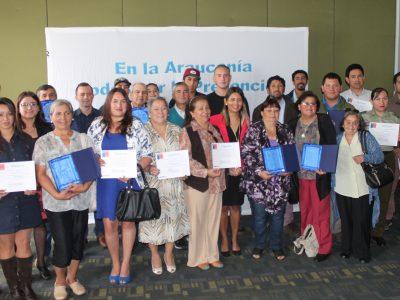 SENDA Araucanía reconoció a cerca de 40 agentes preventivos de la región