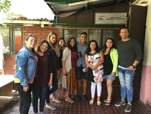 Estudiantes beneficiarios del Actuar a Tiempo reciben visita de Gonzalo Jara