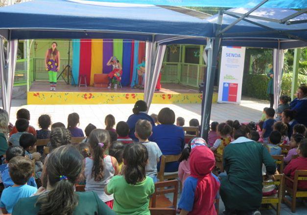 SENDA Previene San Ramón desarrolla entretenidas actividades con la comunidad