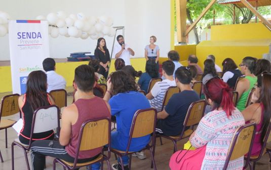 Finalizan talleres de artes circenses y muralismo en San Ramón