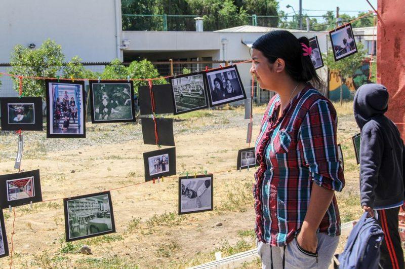 SENDA Previene Peñaflor expone fotografías tomadas por niños y niñas del Actuar a Tiempo