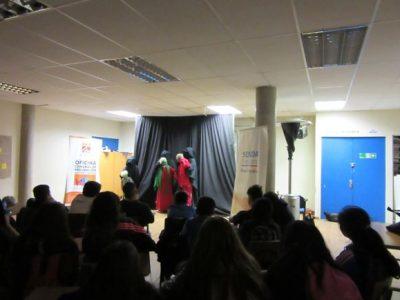 Obra de teatro refuerza la importancia comunicación al interior de las familias