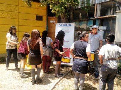 SENDA Previene La Cisterna realiza taller de batucada junto a jóvenes