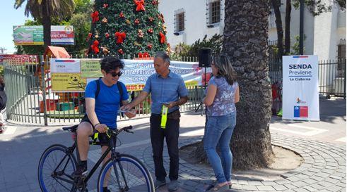 SENDA Previene La Cisterna difunde campaña «Cuida tus límites»