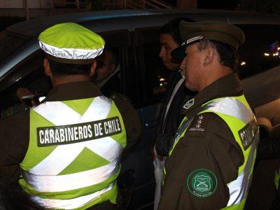 SENDA Arica y Carabineros refuerzan controles de alcohol a conductores por fin de semana largo