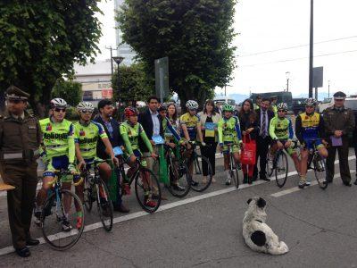 Autoridades regionales promueven conductas de autocuidado en peatones, ciclistas y conductores