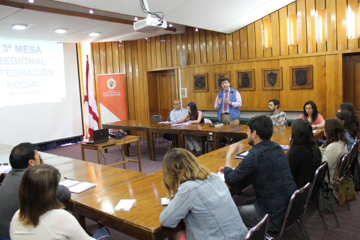 Instituciones de Los Ríos coordinan acciones para el 2017 en área de Integración Social