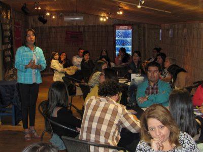 Puertomontinos  participaron en alcotest preventivo de SENDA Los Lagos