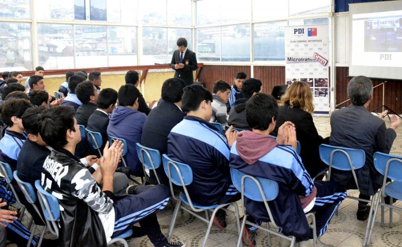 Directora de SENDA Valparaíso participa en lanzamiento de Campaña de la PDI que incentiva la denuncia anónima de microtráfico