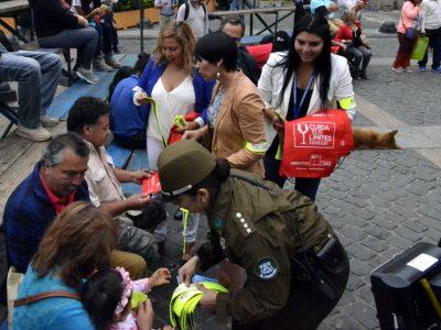 Senda, Fundación Emilia, Carabineros y autoridades regionales realizan Campaña de Prevención por Fin de Año en Valparaíso