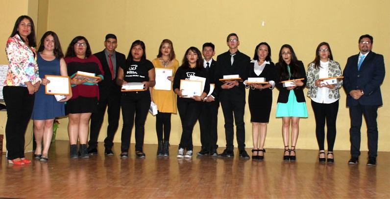 Gracias a convenio entre SENDA y Codelco, 46 alumnos de Calama son certificados como agentes preventivos