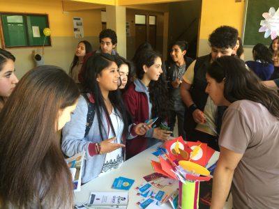 SENDA Previene de Freire realiza feria preventiva en Escuela Juan Seguel